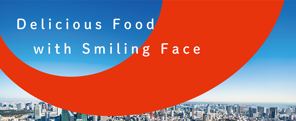 Delicious Food with Smiling Face