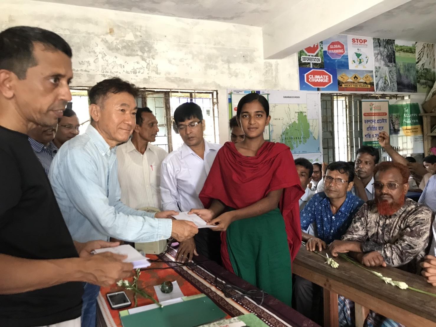 海外教育支援への取り組み